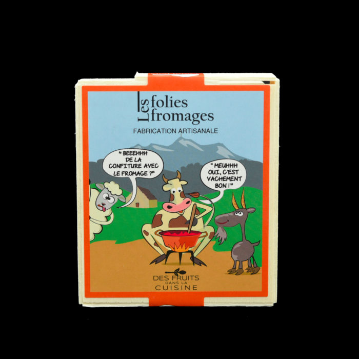 Folie fromage box - LES PETITS FRUITS