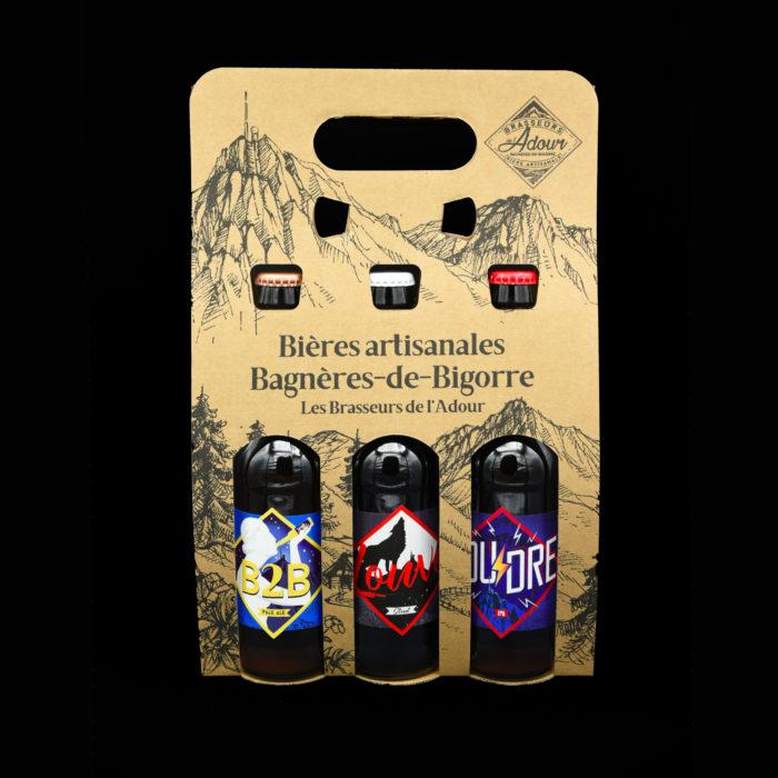 Coffret 3 bières - LES BRASSEURS DE L'ADOUR