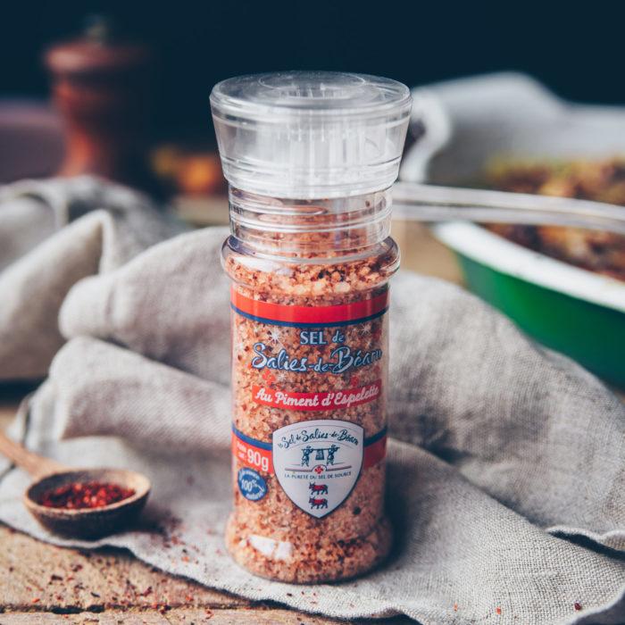 Moulin petit chef piment - SEL DE SALIES-DE-BEARN
