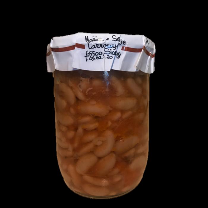 Haricots de Tarbes cuisinés à la graisse d'oie - 420g