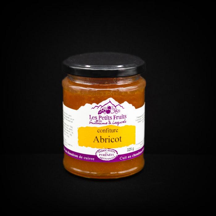 Confiture abricot 325g - LES PETITS FRUITS