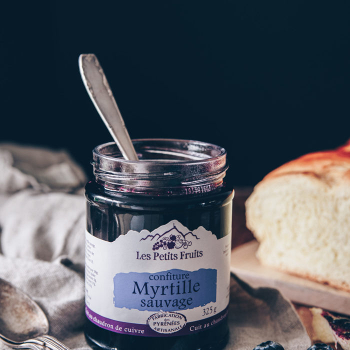Confiture myrtille 325g - LES PETITS FRUITS