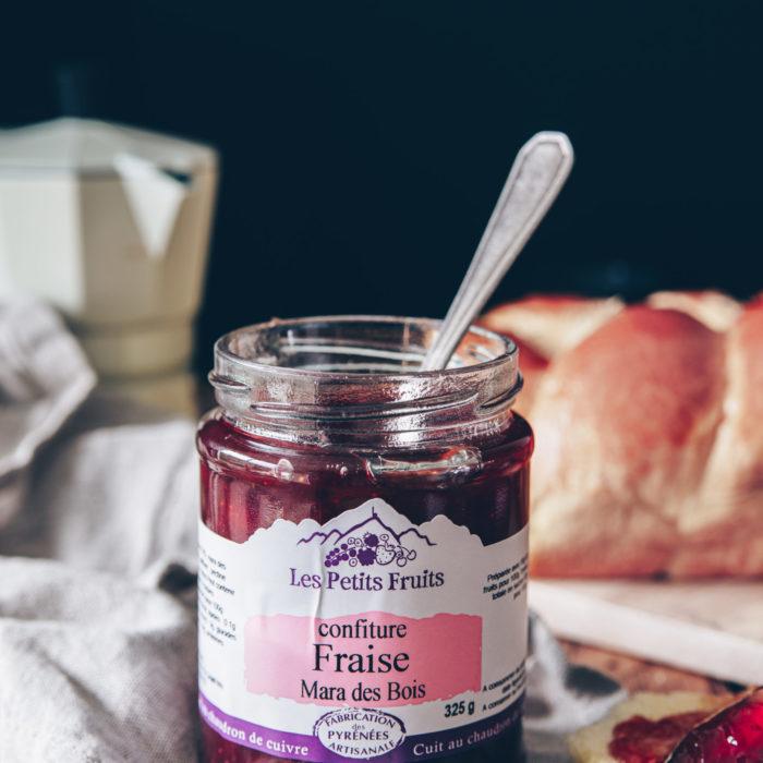 Confiture fraise 325g - LES PETITS FRUITS